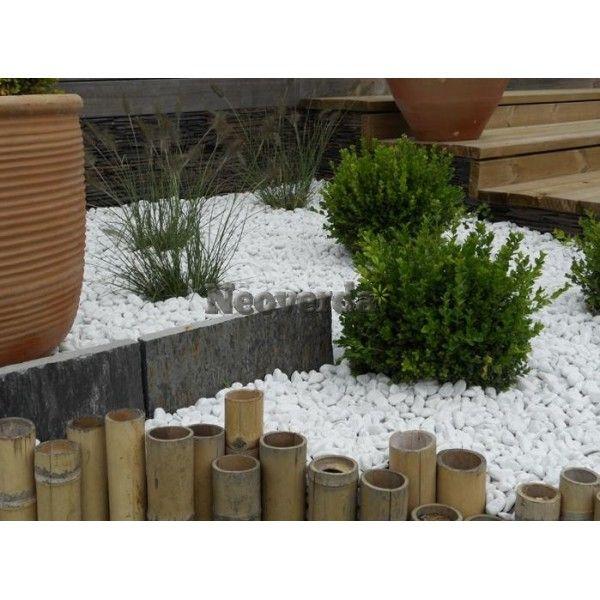 beautiful achat galet blanc pour jardin contemporary. Black Bedroom Furniture Sets. Home Design Ideas